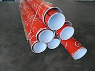Tube de coffrage carton lisse ø250mm L.3 m