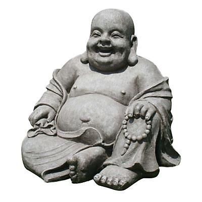 Bouddha Rieur Aspect Pierre 43 Cm Castorama