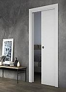 Porte seule Arithmos laquée blanc 73 cm