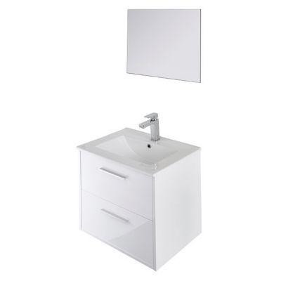 Ensemble de salle de bain à suspendre Mix 60 cm