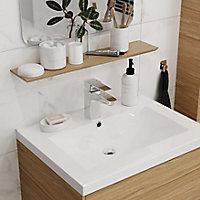 Plan vasque blanc GoodHome Nira 60 cm