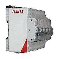 4 disjoncteurs + 1 gratuit 16A AEG