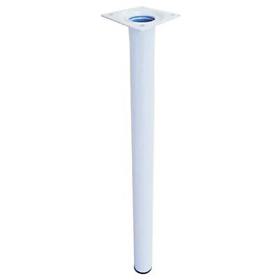4 pieds blanc pour table basse diall o30 x h 350 mm