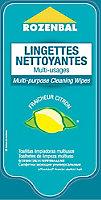 40 lingettes nettoyantes multi-usages