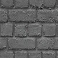 Papier peint papier sur papier Rasch brick ardoise