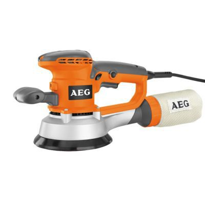 Ponceuse excentrique aeg power tools ex150e 150 mm 440w