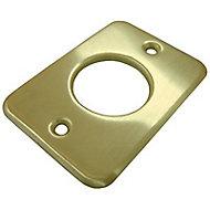 Verrou à bouton avec cylindre Abus ø 23 mm / 40 mm