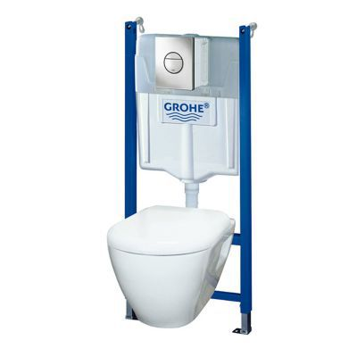 Pack wc grohe solido perfect castorama - Wc suspendu grohe solido ...