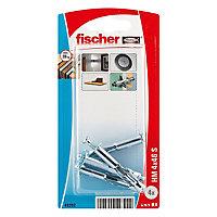 4 chevilles vis matériaux creux charges moyennes Fischer M4x46mm