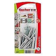 10 chevilles universelles Fischer Ø6x35mm