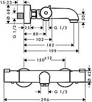 Mitigeur thermostatique Ecostat 1001