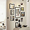 Cadre photo aluminium noir Accent 13 x 18 cm