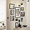 Cadre photo aluminium noir Accent 50 x 100 cm