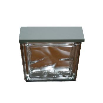 demi brique de verre nuage incolore castorama. Black Bedroom Furniture Sets. Home Design Ideas
