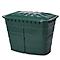 Récupérateur d'eau GARANTIA rectangulaire vert 520L