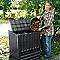 Composteur Garantia Eco King noir 400L