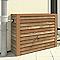 Récupérateur d'eau mural GARANTIA Woody bois clair 350L