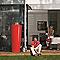 Récupérateur d'eau GARANTIA Color tomato 350L + bac à plantes
