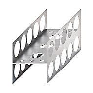 2 profilés en forme de H blister Jackon 50 mm