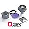 Bonde verticale receveur à carreler plastique gris Q-BOARD Liquid