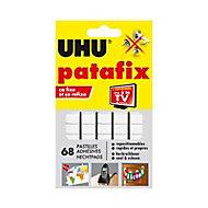 68 pastilles adhésives Patafix UHU blanches
