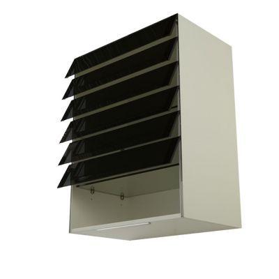 meuble vitrine de cuisine avec lamelles climber castorama. Black Bedroom Furniture Sets. Home Design Ideas