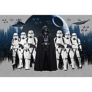 Poster intissé Star Wars Étoile de la Mort gris 248x368cm