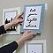 Languettes de fixation pour tableaux Moyen modèle Blanc