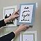 Languettes de fixation pour tableaux Petit modèle Blanc