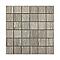 Mosaïque décor chêne gris 5 x 5 cm