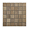 Mosaïque décor chêne naturel 5 x 5 cm