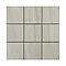 Mosaïque blanche 10 x 10 cm Quartzite