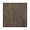 Mosaïque décor chêne marron 10 x 10 cm