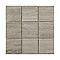 Mosaïque décor chêne gris 10 x 10 cm