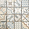 Mosaïque ciment gris 30 x 30 cm