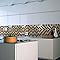 Mosaïque verre mix marron 4,8 x 4,8 cm
