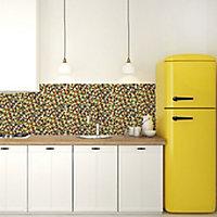 Mosaïque multi-couleur 1,5 x1,5 cm Lana verre