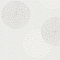Papier peint expansé sur intissé Fleurs bulles blanc