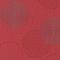 Papier peint expansé sur intissé Fleurs bulles rouge