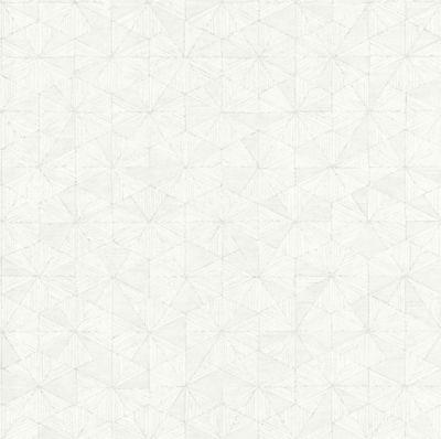 Papier Peint Vinyle Sur Intissé Lutèce Géométrique Blanc Castorama