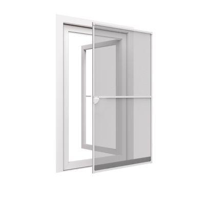 cadre moustiquaire de porte en alu blanc 100 x cm. Black Bedroom Furniture Sets. Home Design Ideas
