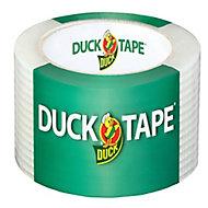 Adhésif de réparation Duck Tape transparent, 50mm x 25m