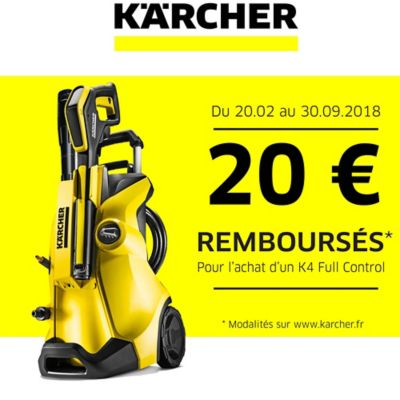 nettoyeur haute pression karcher k4 full control castorama. Black Bedroom Furniture Sets. Home Design Ideas