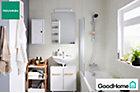 Ladoga blanc sous-lavabo