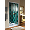 Porte de douche pivotante extens. 69-81 cm blanc Vita