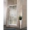 Porte de douche pivotante extens. 79-91 cm blanc Vita