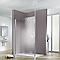 Paroi de douche verre transparent 90 cm Walk In Solo Light