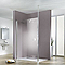 Paroi de douche verre transparent 120 cm Walk In Solo Light