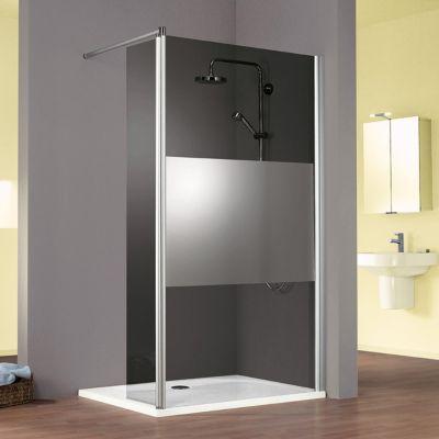 Paroi douche décor décent miroir 90 cm Walk In Solo