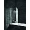 Pare-baignoire 80 x 140 cm, Schulte